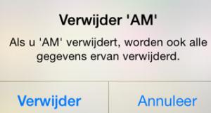 Ashley Madison app verwijderen definitief iOS