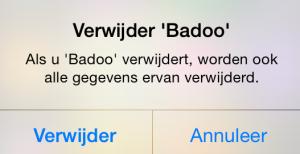 Badoo permanent opheffen iphone
