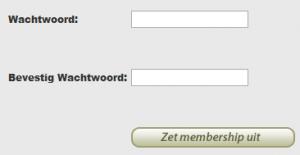 ColombianCupid wachtwoord invullen en membership uitzettn